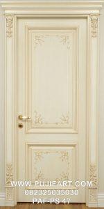 Kusen Pintu Kamar Tidur Ukir Eropa Elegan