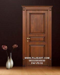 Pintu Minimalis Kayu Jati Murah