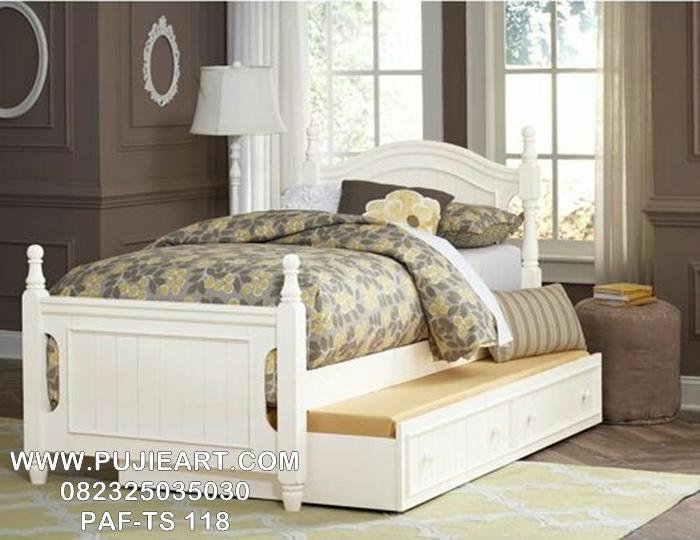 Ranjang Tempat Tidur Anak Sorong Minimalis Modern