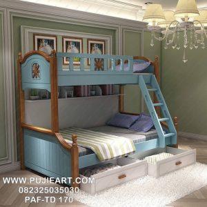 Tempat Tidur Tingkat Anak Anak Minimalis Modern