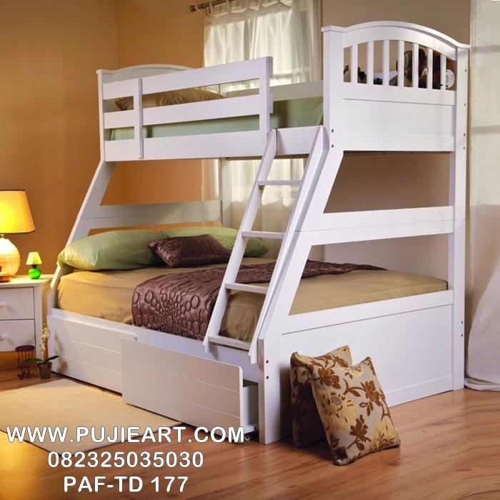 Tempat Tidur Tingkat Anak Minimalis Cat Duco