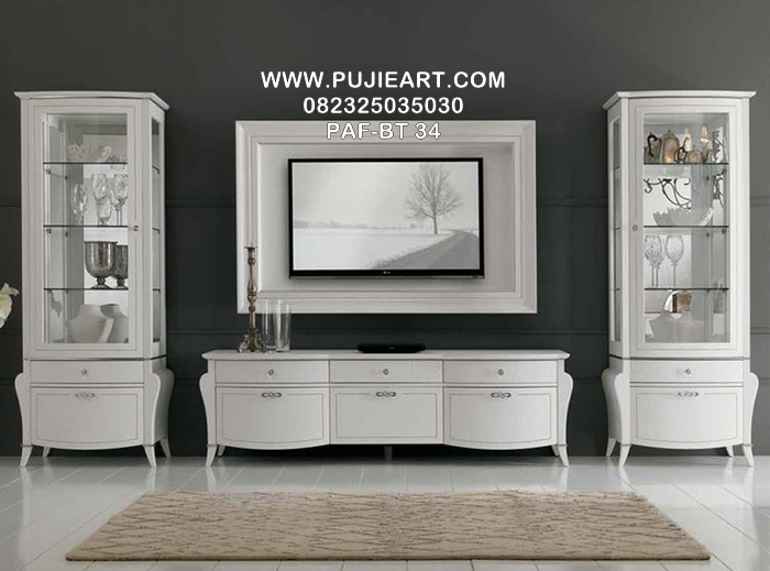 Harga Bufet Tv Jati Modern Minimalis