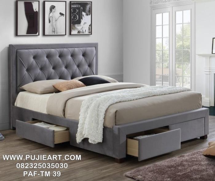 Jual Tempat Tidur Minimalis Laci