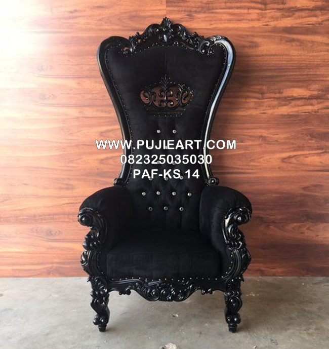Kursi Sofa Single Murah Warna Hitam