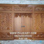 Gebyok Jawa Kuno Antik Jati